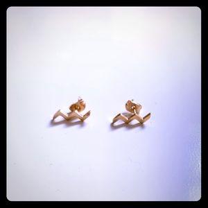 ❤️ 3/$20 ❤️ lightening bolt earrings